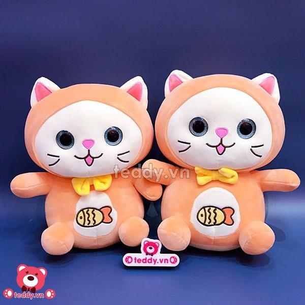Mèo Bông Thêu Cá