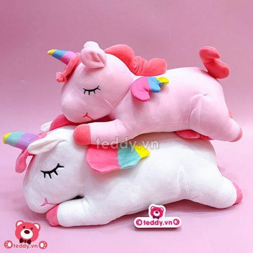 Ngựa Bông Unicorn Nằm