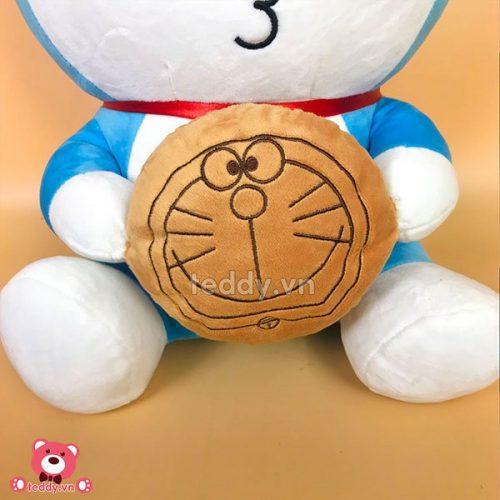 Gấu Bông Doremon Ôm Bánh