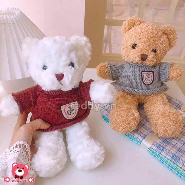 Gấu Bông Teddy Head & Tales Nhỏ