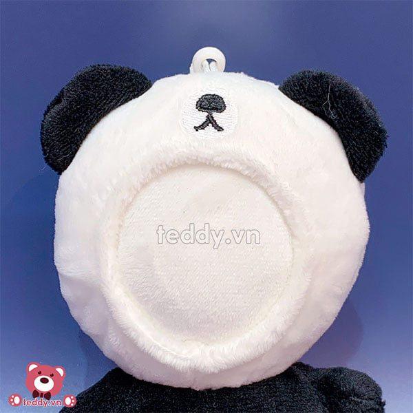 Móc Khóa Gấu Bông In Ảnh