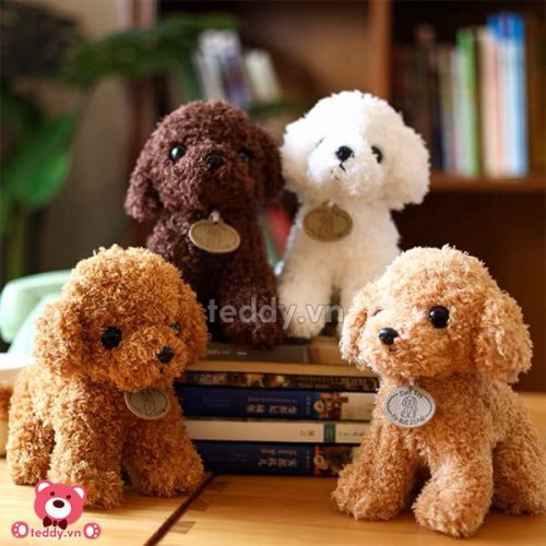 Gấu Bông Nhỏ Chó Xù