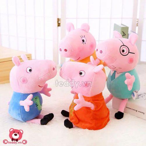 Gấu Bông Nhỏ Lợn Peppa Pig