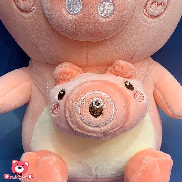 Gấu Nhỏ Lợn Đeo Túi