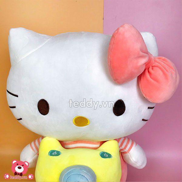 Kitty Bông Máy Ảnh