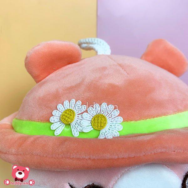 Chuột Bông Mũ Hoa