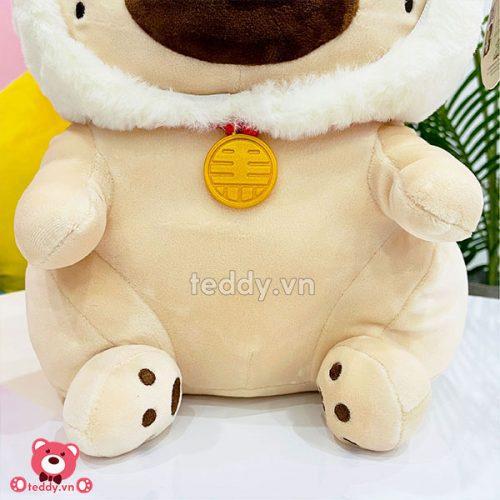 Chó Nô Tài Bông Cosplay