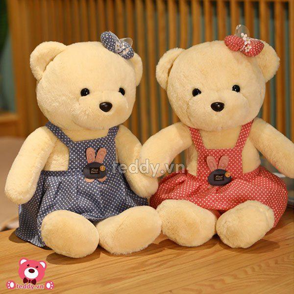 Gấu Bông Váy Sao