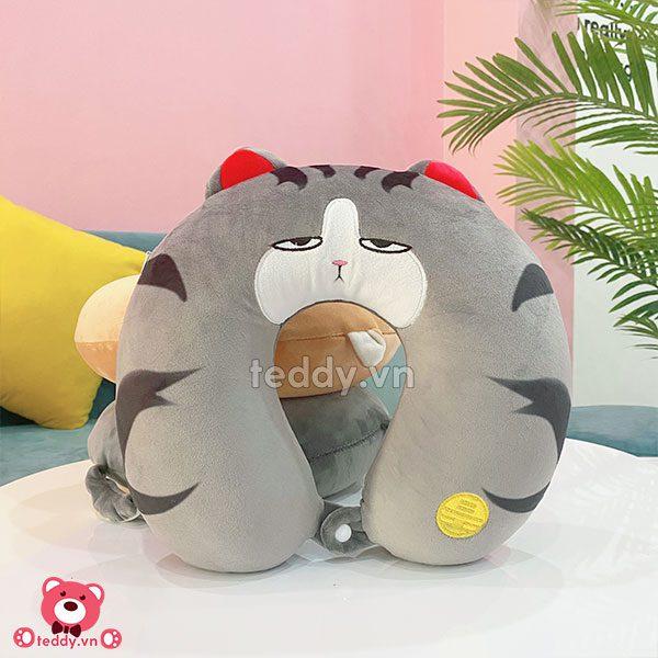 Gối Cổ Pet - Mèo Hoàng Thượng
