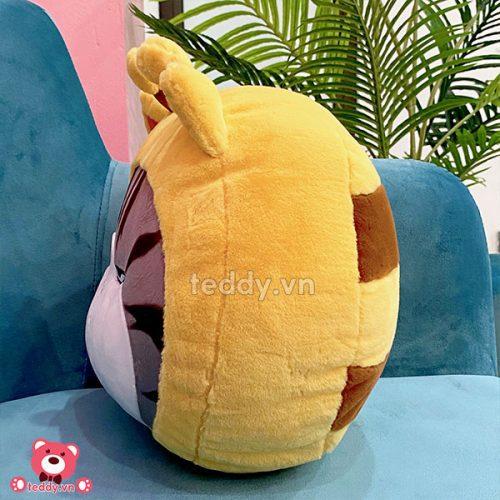 Gối Tròn Mèo Hoàng Thượng Cosplay Ong