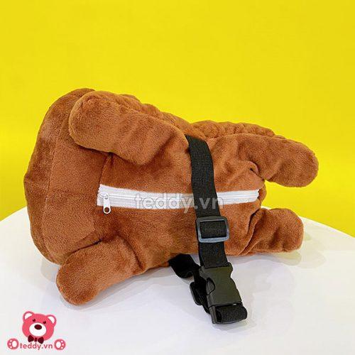 Thú Bông Đựng Khăn Giấy – Gấu Brown