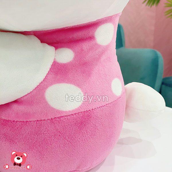 Gấu Bông Kitty Ôm Nấm