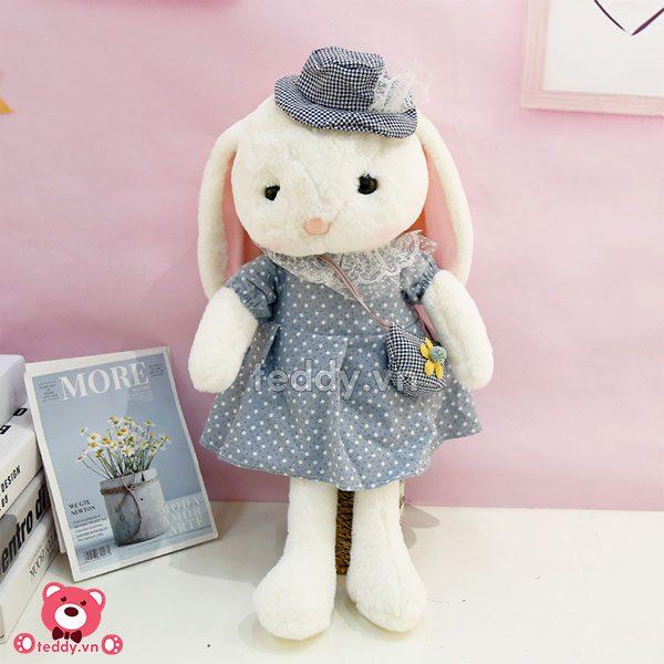 Thỏ Bông Váy Mũ