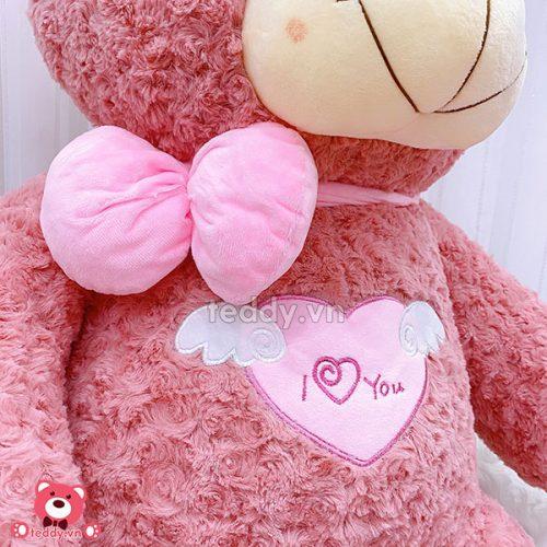 Gấu Bông Teddy Angel Hồng